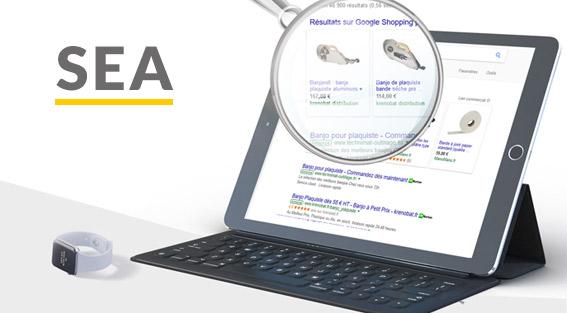 Campagne de publicité Google Shopping